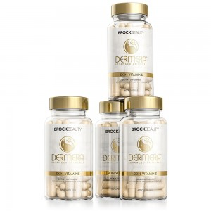 Dermera Skin Vitamins 4 Month Supply